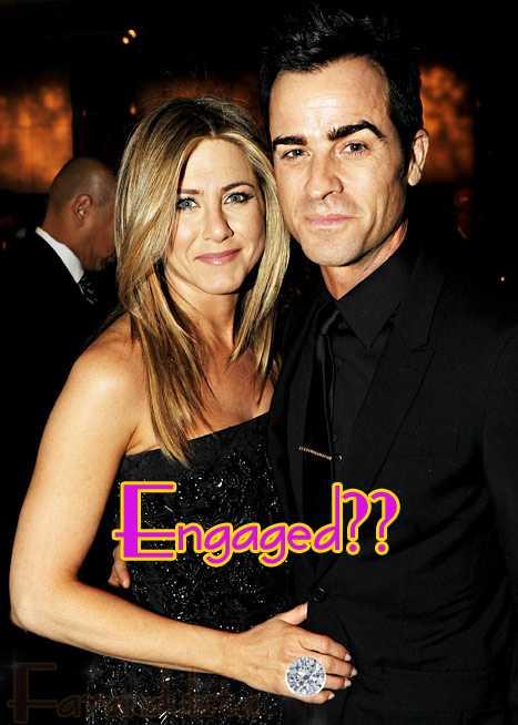 Vean el anillote de compromiso de Jen Aniston!!!