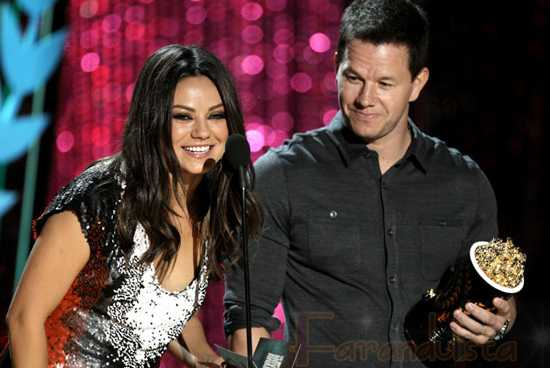 Ganadores de los MTV Movie Awards 2012