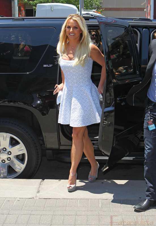 Britney Spears en las audiciones de X factor en Kansas