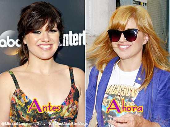 Kelly Clarkson ahora es rubia - Hot or Blah!?