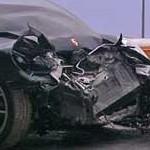 Lindsay Lohan hospitalizada luego de un accidente de auto