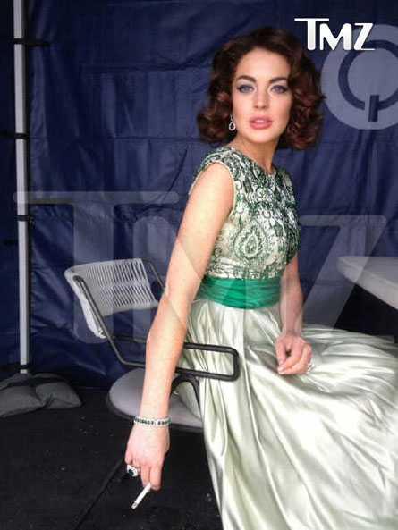 Lindsay Lohan como Elizabeth Taylor? WOOW o WTF?
