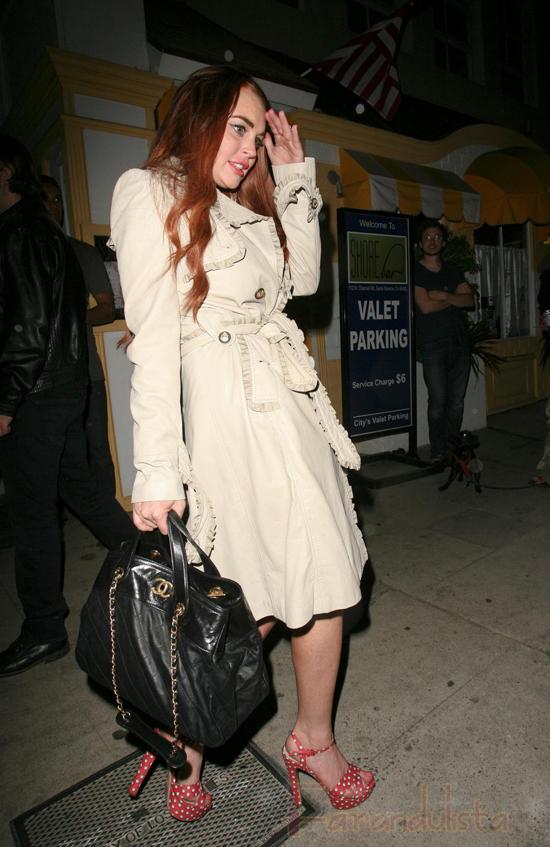 Ahora Lindsay Lohan es penosa