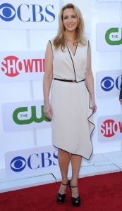 Matt LeBlanc y Lisa Kudrow en la CBS, The CW & Showtime 2012 party