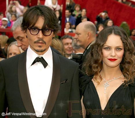 Johnny Depp y Vanessa Paradis tenian peleas terribles