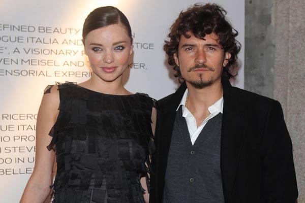 Miranda Kerr y Orlando Bloom: Matrimonio en problemas?