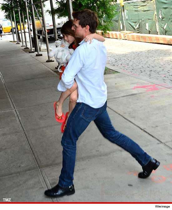 Tom Cruise se reunió con su hija Suri