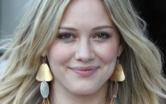 Hilary Duff trabajando en su nuevo album