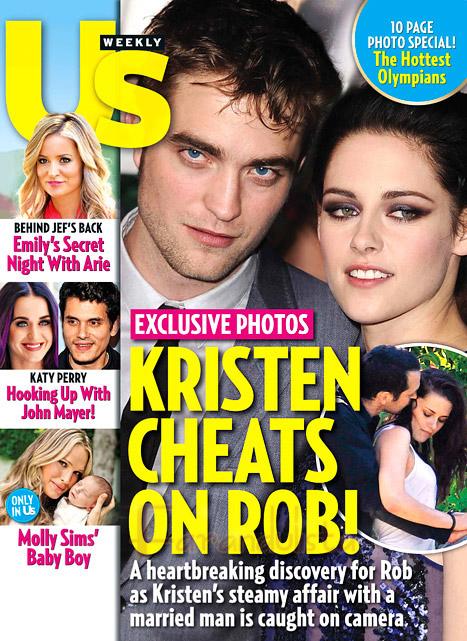 Kristen Stewart engaña a Robert Pattinson con el Director Rupert Sanders?