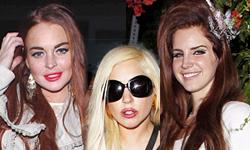 Lilo, Gaga y Lana del Rey hacen una fiesta juntas?