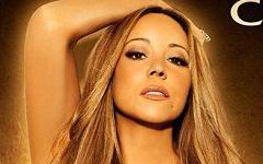 Mariah Carey en el cover de su single Triumphant