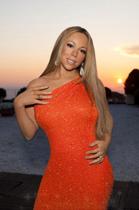 Mariah Carey en la primera promo de American Idol