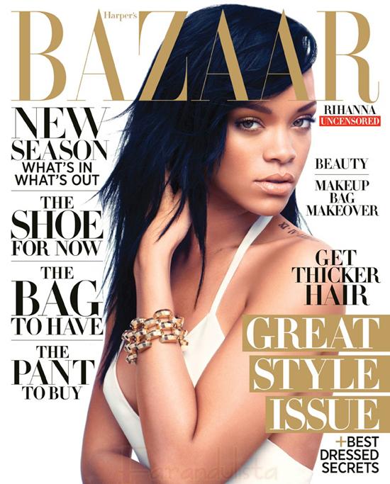Rihanna habla de Chris Brown en Harper's Bazaar?