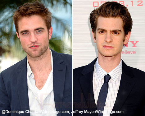 Rob Pattinson y Andrew Garfield no se soportan?