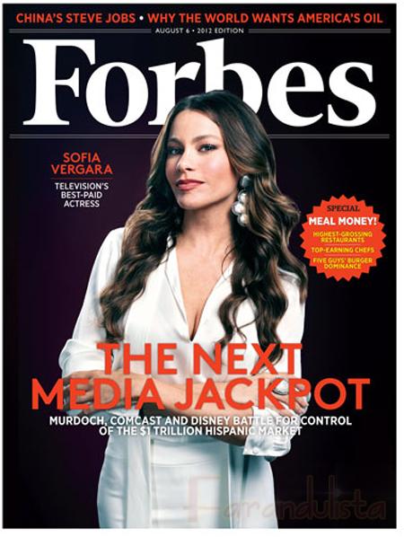 Las actrices Mejor Pagadas de la TV [Forbes] Sofia Vergara No 1