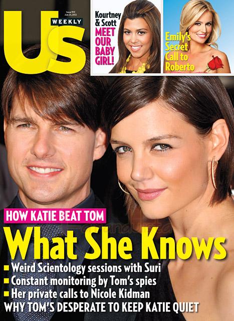 Nicole Kidman ayudó a Katie Holmes con el divorcio? - US