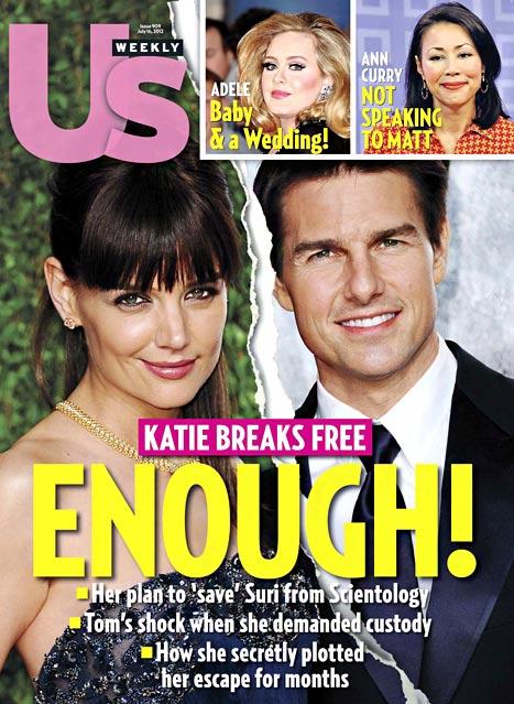 Katie Holmes no obtendrá NADA de Tom por el prenup