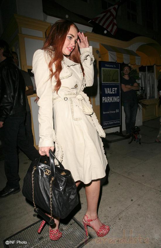 Interrogan a Lindsay Lohan por robo de joyas en Hollywood Hills