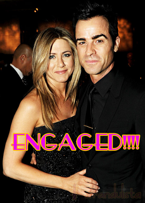 Jennifer Aniston & Justin Theroux COMPROMETIDOS!!!