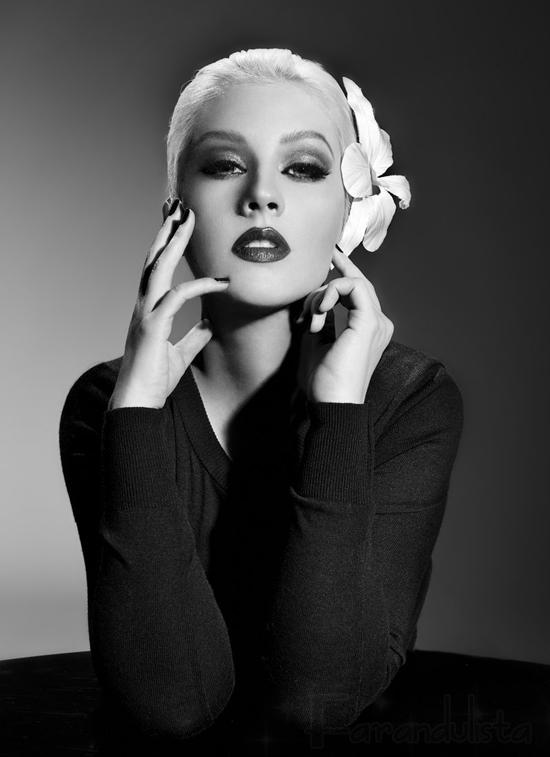 Christina Aguilera en la promo de su próximo album?