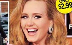 Adele muestra su baby bump! Y Anillo de boda!??