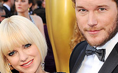 Anna Faris y Chris Pratt ya son padres de un baby boy!!