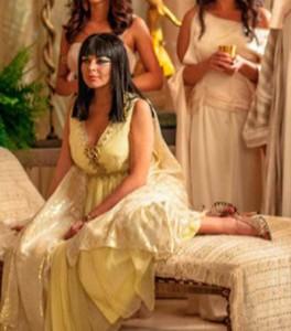 Lindsay Lohan como Liz Taylor para Liz & Dick