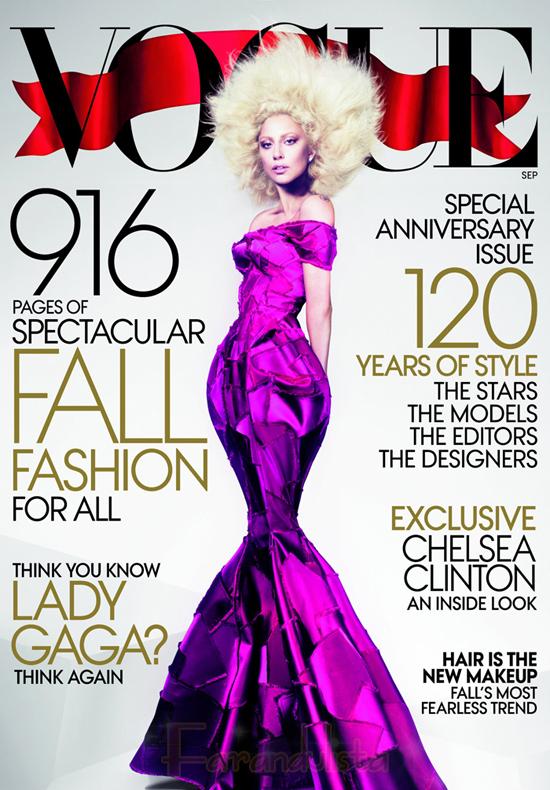 Lady Gaga en Vogue magazine - Septiembre 2012 - WHY?