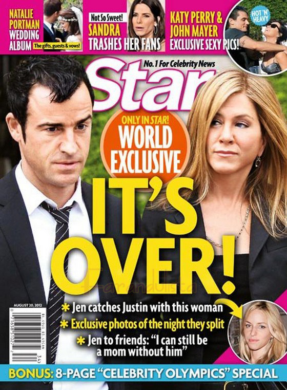 Jennifer Aniston y Justin Theroux terminaron? Nope!