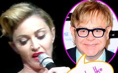 Elton John llama a Madonna stripper de feria!!! LMAO!!!
