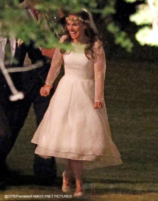 El vestido de novia de Natalie Portman... fug!