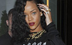 OMG! Call Fashion Police!! El Look de RiRi