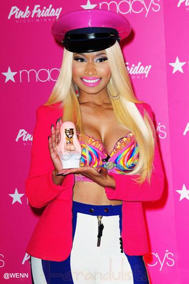 Nicki Minaj habla del rollo con Mariah Carey en American Idol...