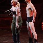 WTF!! Lady Gaga muestra sus carnitas en Amsterdam!!!