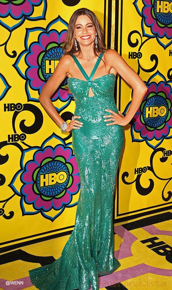 A Sofia Vergara se le rompió el vestido en los Emmy!