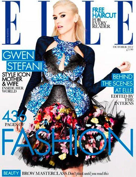 Gwen Stefani: Ser Mamá es duro! - Elle magazine UK