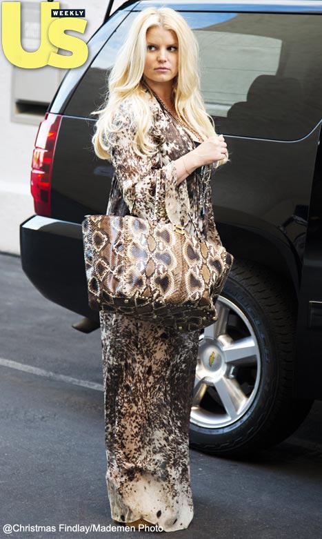 Jessica Simpson: estoy a 10 libras de mi peso antes del baby