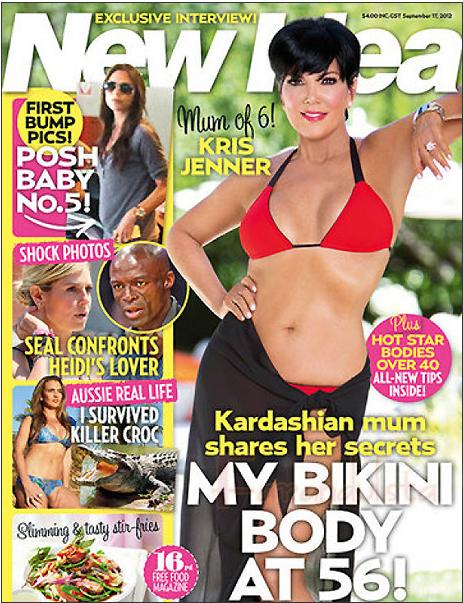 Kris Jenner posa en Bikini a sus 56