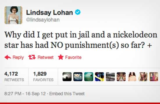 Of course! Lindsay pregunta por que Amanda no esta presa