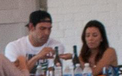 Eva Longoria y Mark Sanchez pillados juntos?