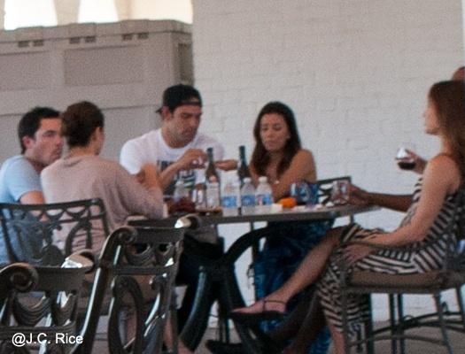 Eva Longoria y Mark Sanchez pillados juntos?