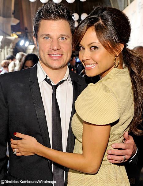 Vanessa Minillo y Nick Lachey ya son padres de un baby boy!