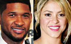 Usher y Shakira reemplazan a Cee-Lo y Christina en The Voice!