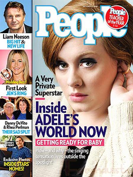 Adele emocionada con la maternidad - Dicen