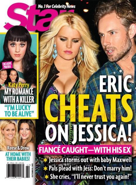 Eric Johnson engaña a Jessica Simpson con su ex?