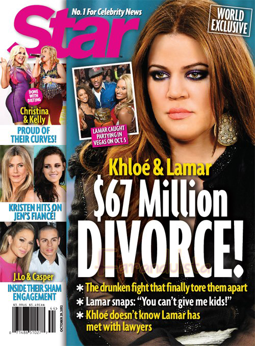 Khloe & Lamar se divorcian!!! Un divorcio de Millones!!!