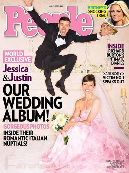 Finalmente! Las fotos de la boda de Justin Timberlake y Jessica Biel