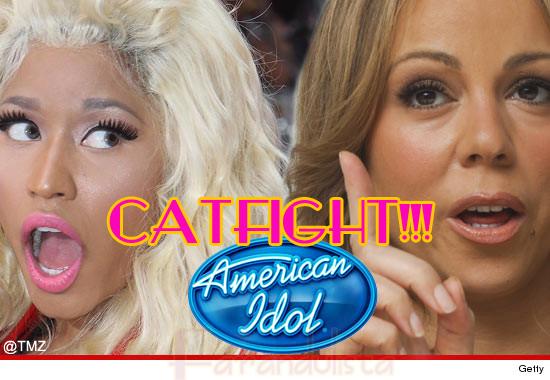 Nicki Minaj se pelea con Mariah Carey en AI - CATFIGHT!!!