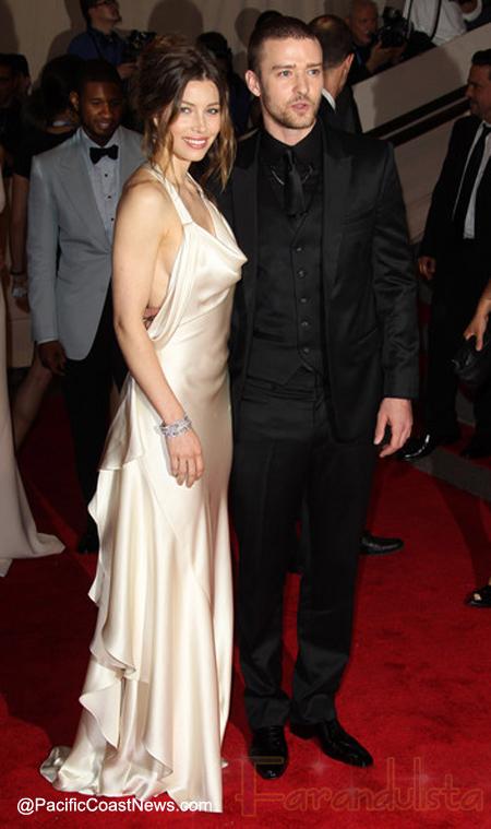 FYI: Justin Timberlake y Jessica Biel vendieron las pics de su boda...