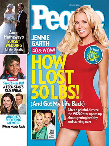 Jennie Garth: Como perdí 30 lbs y recuperé mi vida!